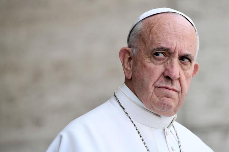 Francisco cazó un espía en Roma