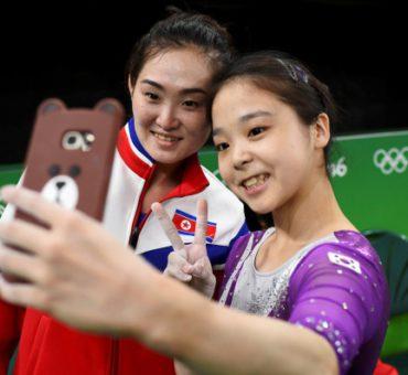 La selfie que unificó Corea