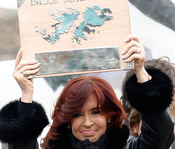 Cristina vendió humo en Malvinas